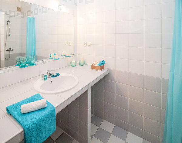 Keeping our bathroom clean and shiny requires a lot of elbow grease.