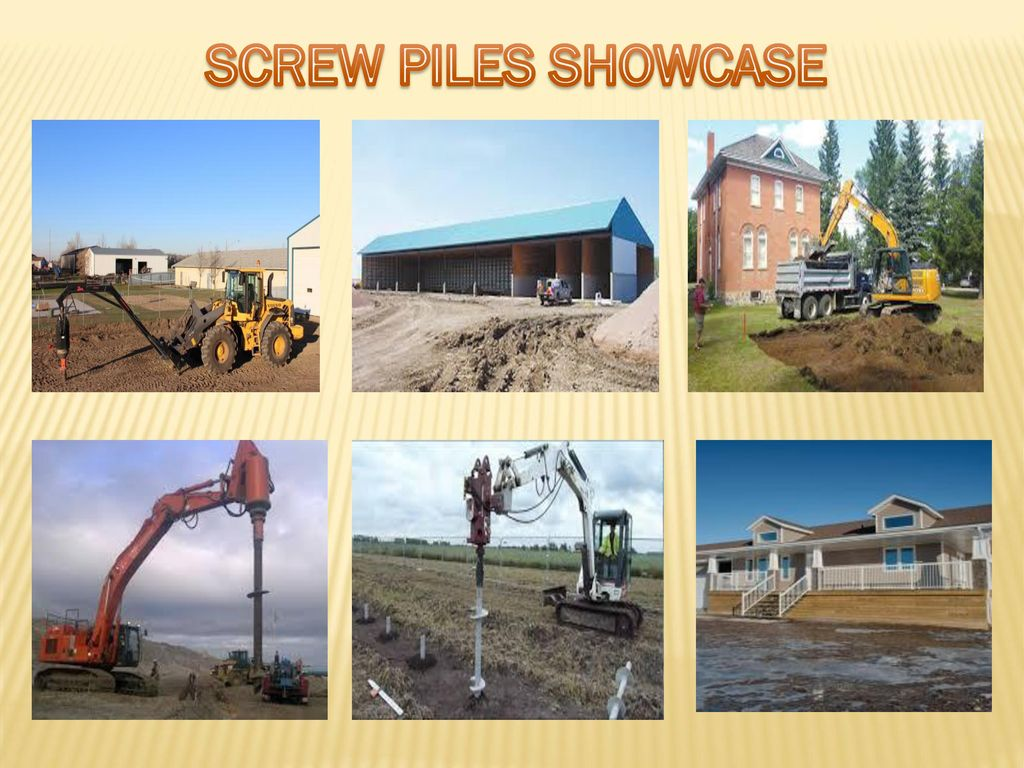 SCREW PILES SHOWCASE