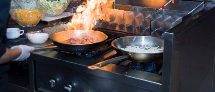 fire and electrical kitchen hazards