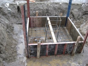 Formwork for Concrete Footings