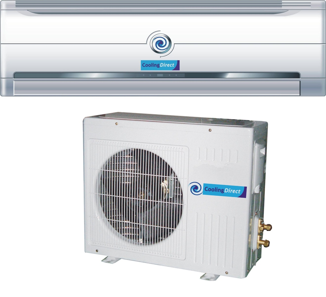 wall mounted split air conditioner, one of many air conditioning types