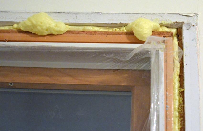 How to remove polyurethane foam